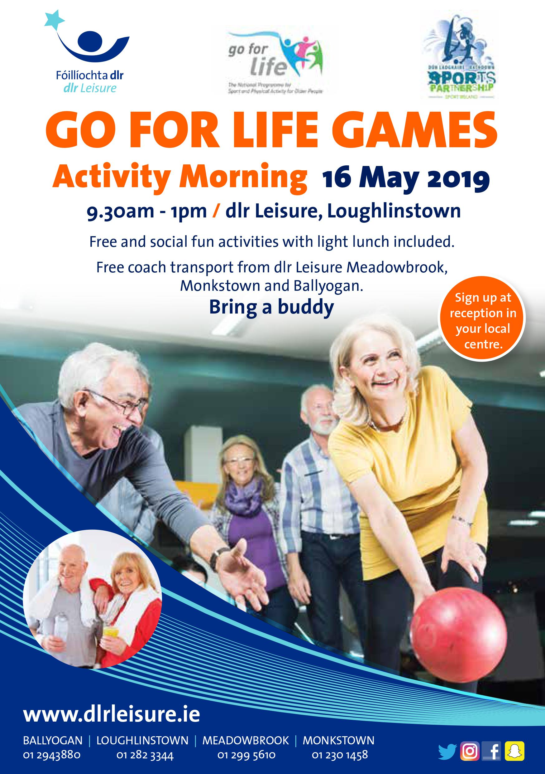 GoFor Life Games activity morning