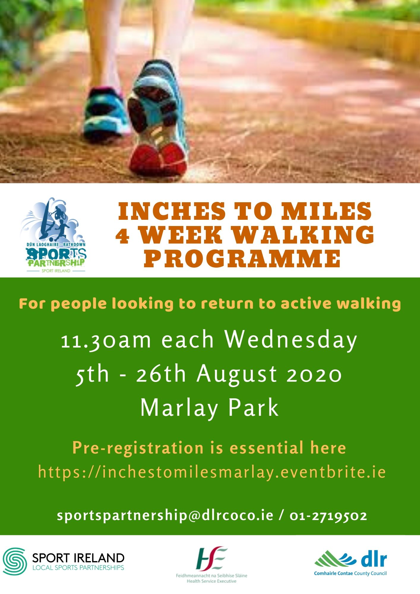 Inches To Miles Walking Programme