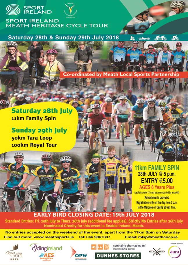 Meath Heritage Cycle Tour 2018