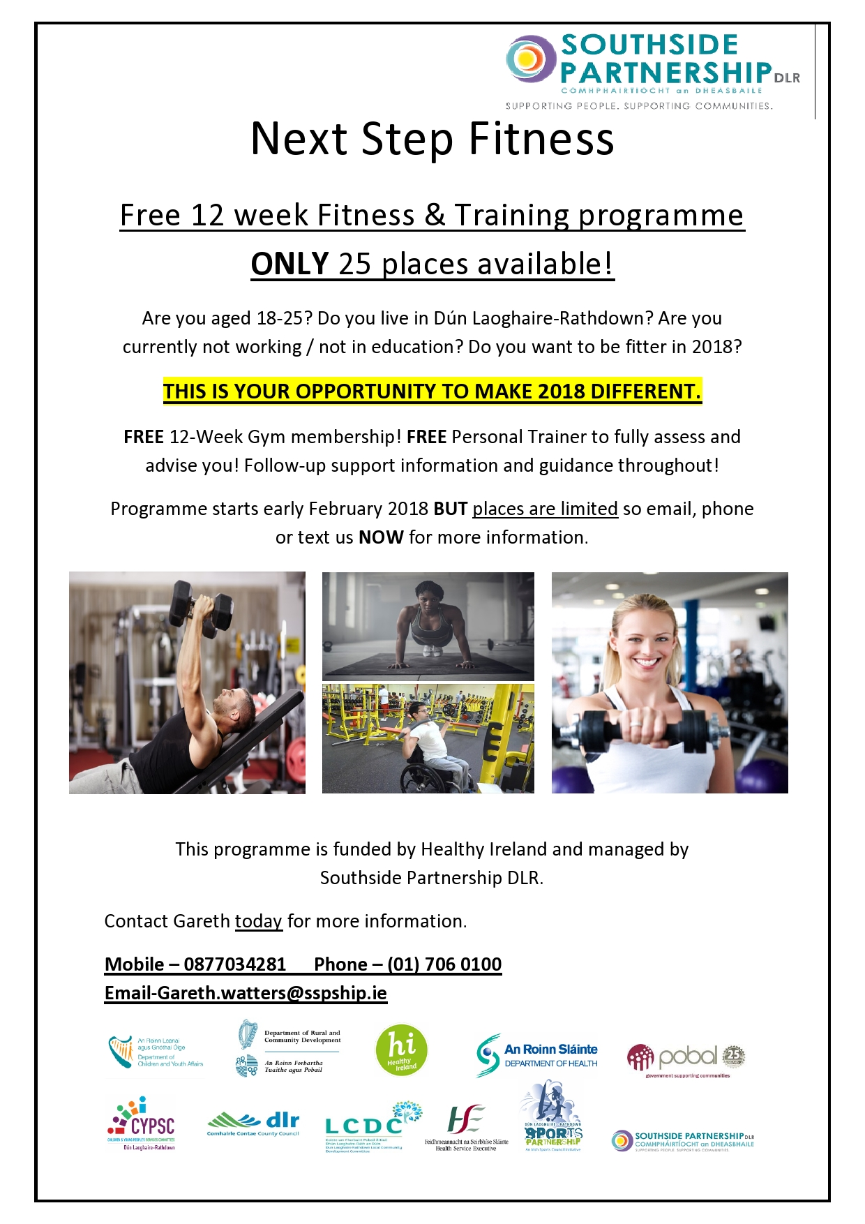 Next Step Fitness flyer jpeg