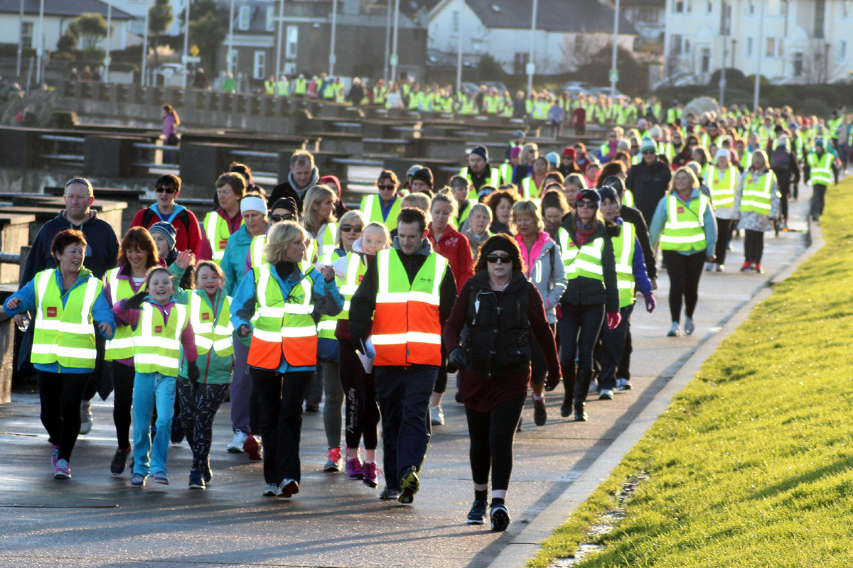 Operation Transformation Walk 2016 East Pier