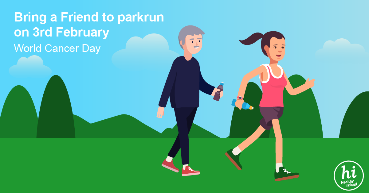 Park Run Facebook and Twitter Link
