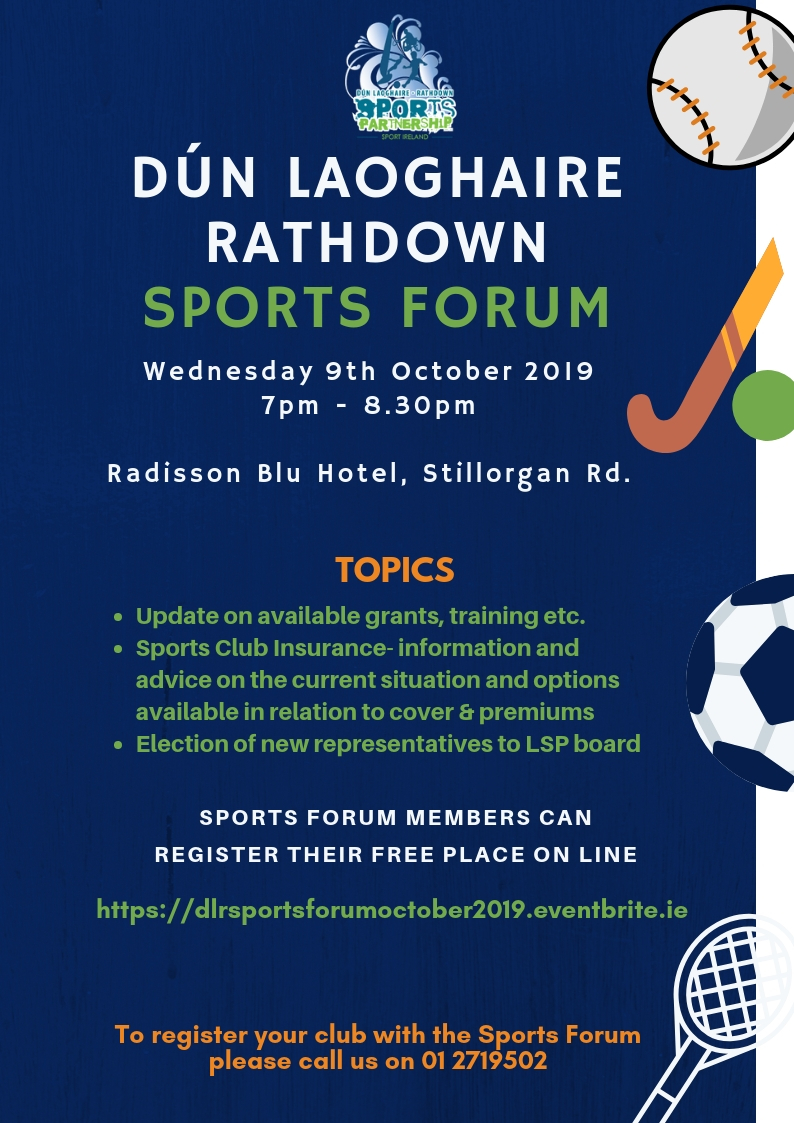 dlr Sports PartnershipSports Forum