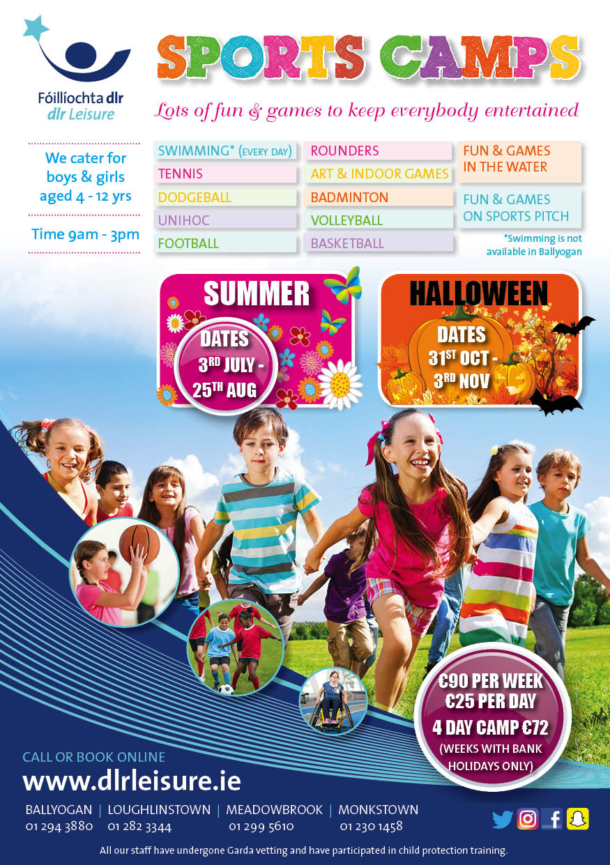 Dlr Sport Partnerships Kids Summer Camps