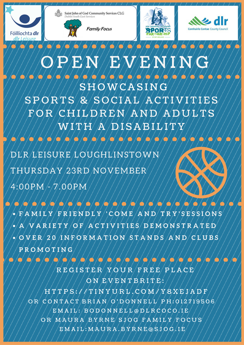 open evening Nov 2017 Flyer