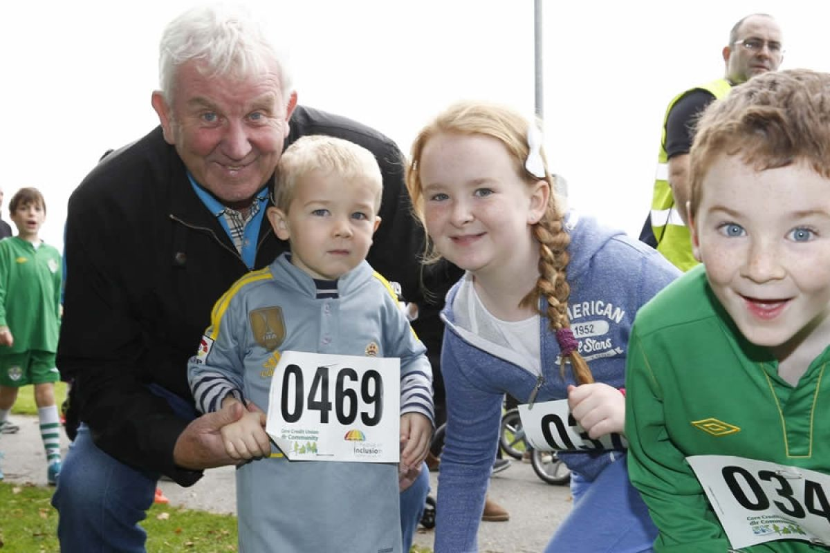 A family affair at the Core Credit Union dlr Community 5K 2015